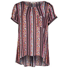 Buy Fat Face Zoe Dusky Floral Top, Multi Online at johnlewis.com