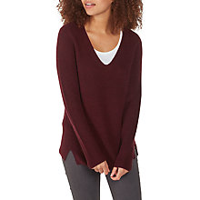 Buy Fat Face Camilla V-Neck Jumper Online at johnlewis.com