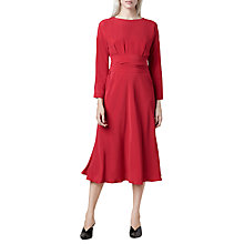 Buy Finery Freda Shift Dress, Red Online at johnlewis.com