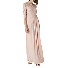 Buy Phase Eight Portia Lace Maxi Dress, Pink Petal Online at johnlewis.com