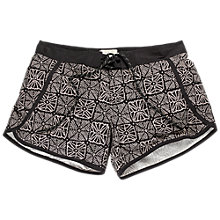 Buy Fat Face Sea Star Boardie Swim Shorts, Phantom Online at johnlewis.com
