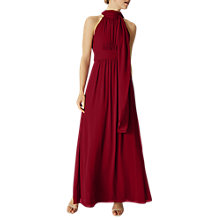 Buy Phase Eight Roxi Halterneck Maxi Dress Online at johnlewis.com