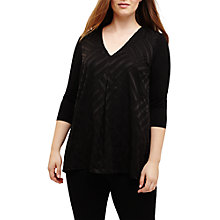 Buy Studio 8 Tracey Jersey Top, Black Online at johnlewis.com