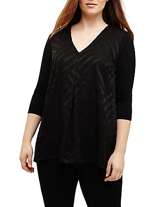 Studio 8 Tracey Jersey Top, Black