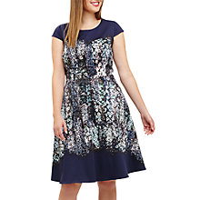 Buy Studio 8 Marissa Floral Jersey Dress, Blue Online at johnlewis.com