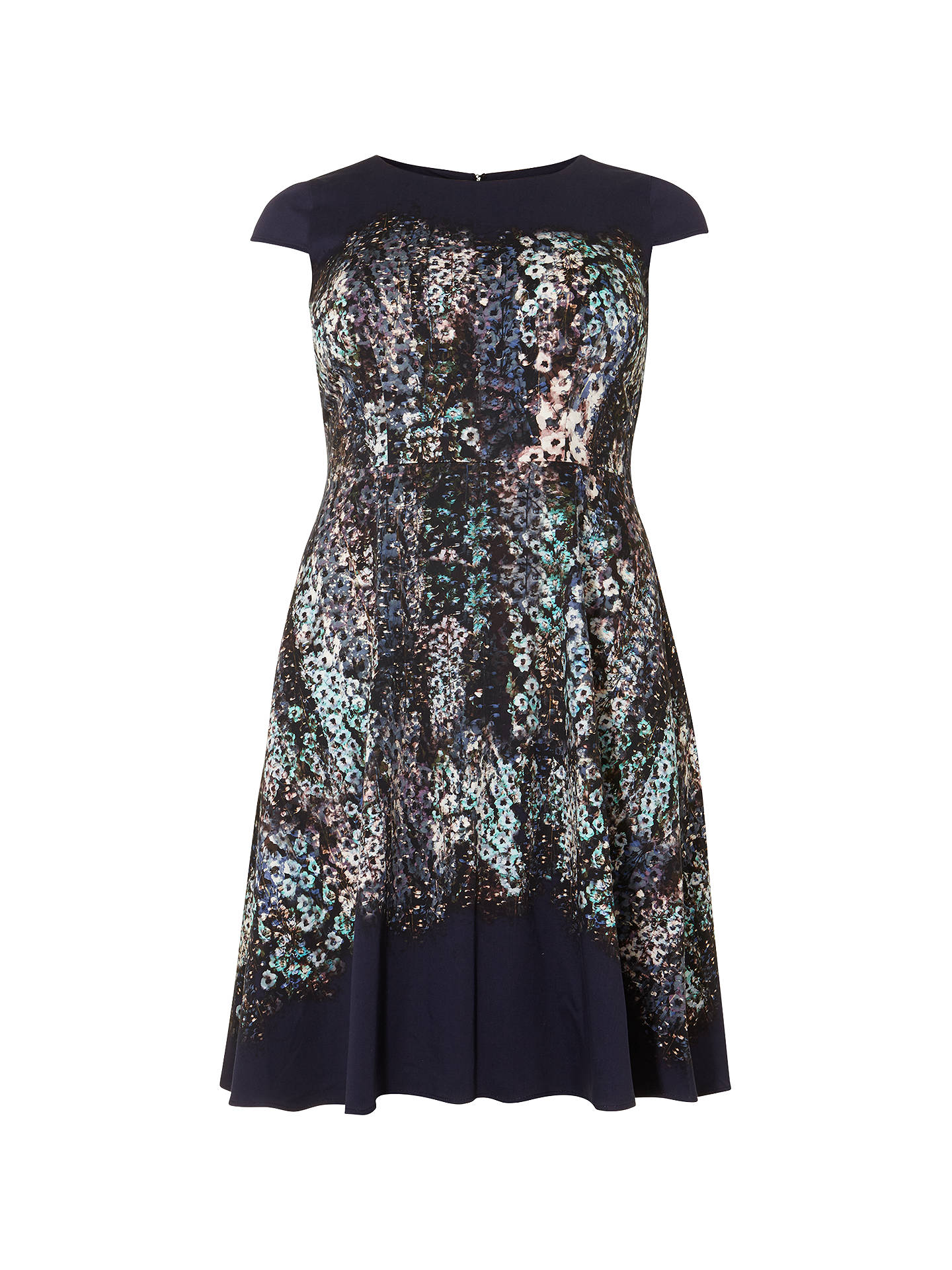 BuyStudio 8 Marissa Floral Jersey Dress, Blue, 12 Online at johnlewis.com