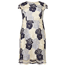 Buy Studio 8 Megan Lace Dress, Blue/Ivory Online at johnlewis.com