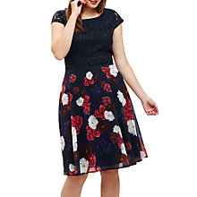 Buy Studio 8 Nicole Dress, Navy/Multi Online at johnlewis.com
