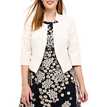 Buy Studio 8 Camilla Jacket, Blush Online at johnlewis.com