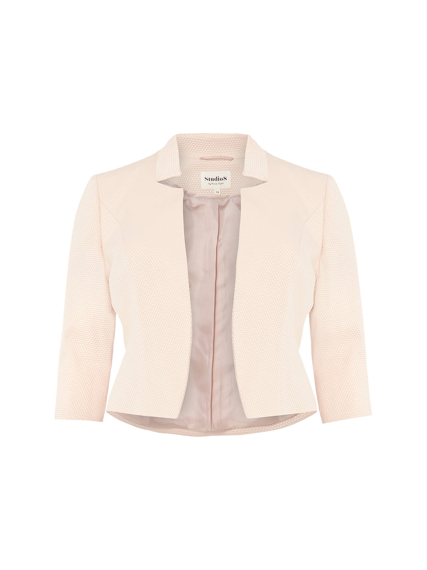 BuyStudio 8 Camilla Jacket, Blush, 12 Online at johnlewis.com