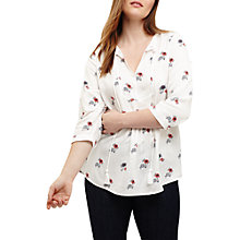 Buy Studio 8 Janey Printed Top, White/Multi Online at johnlewis.com