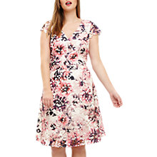 Buy Studio 8 Joselyn Printed Lace Dress, Pink/Multi Online at johnlewis.com