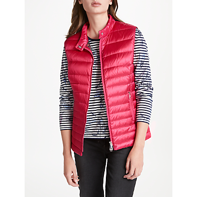 Gerry Weber Padded Down Fill Gilet, Scarlet