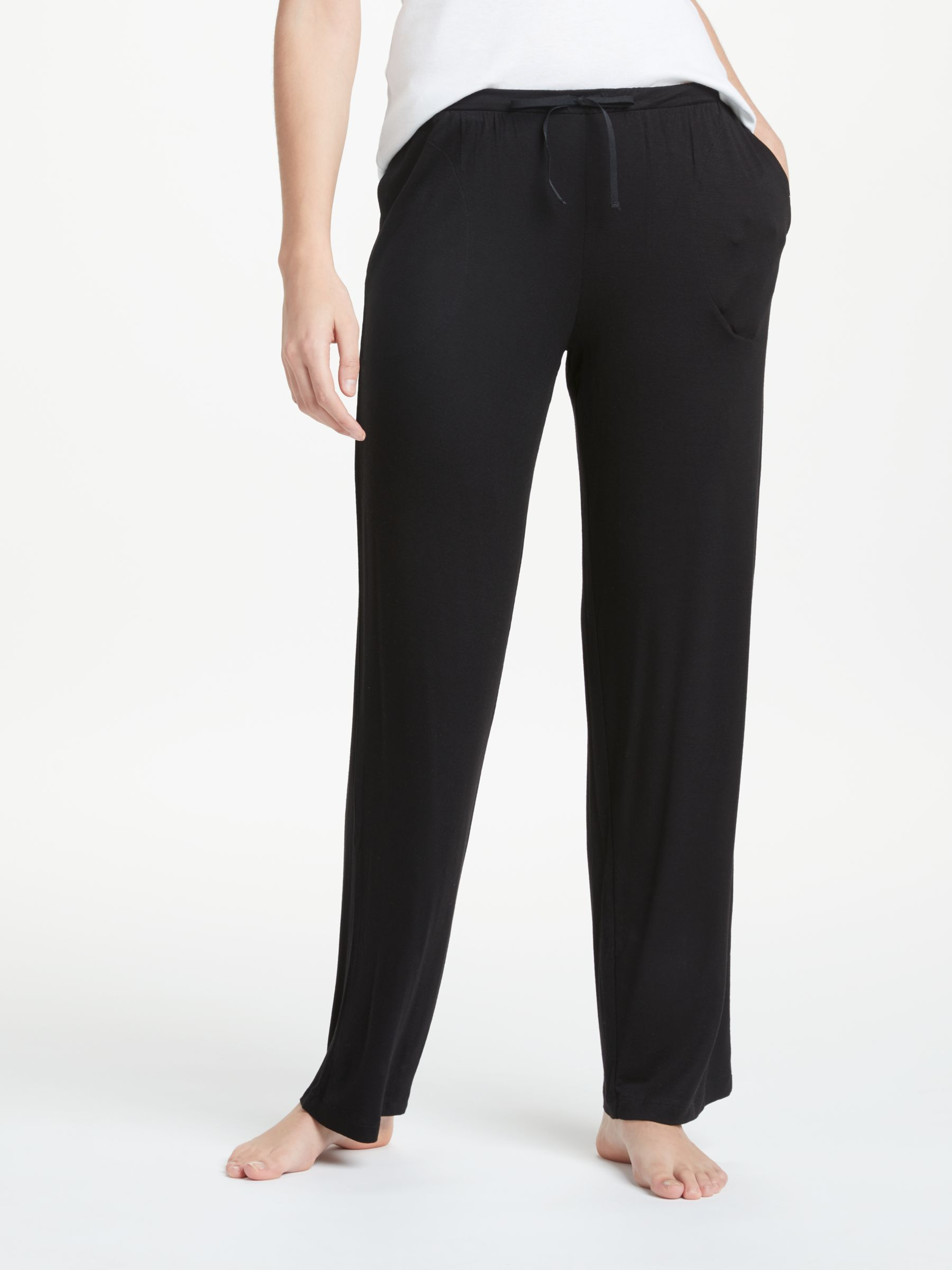 DKNY DKNY Core Essential Lounge Bottoms, Black