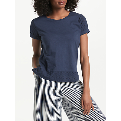 Collection WEEKEND by John Lewis Broderie Hem Top