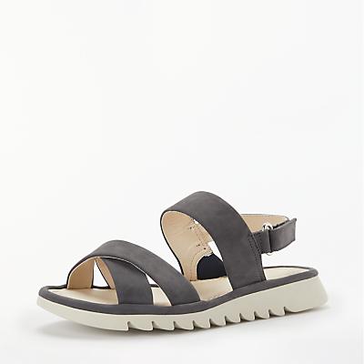 John Lewis Designed for Comfort Lucy Cross Strap Sandals