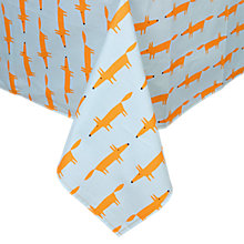 Buy Scion Mr Fox Wipe Clean Tablecloth Online at johnlewis.com