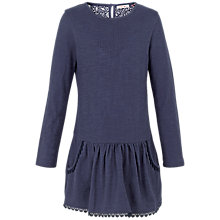 Buy Fat Face Girls' Darlia Plain Dress Online at johnlewis.com