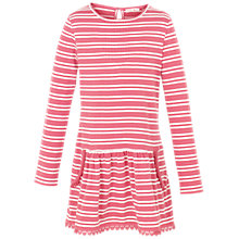 Buy Fat Face Girls' Darlia Stripe Dress Online at johnlewis.com
