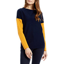 Buy Jaeger Plain Colour Block Jumper Online at johnlewis.com