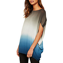 Buy Mint Velvet Ombre Cocoon T-Shirt, Multi Online at johnlewis.com