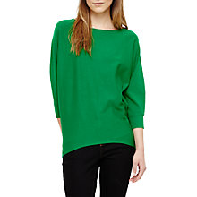 Buy Phase Eight Becca Smart Batwing Jumper, Green Online at johnlewis.com