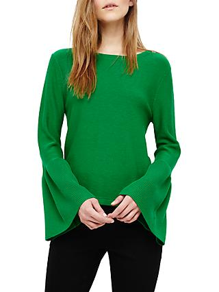 Phase Eight Flori Bell Sleeve Knitted Top