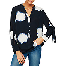 Buy Mint Velvet Laia Print Blouse, Multi Online at johnlewis.com