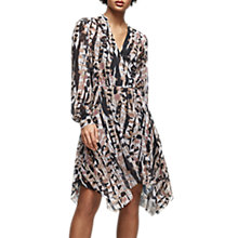 Buy Reiss Maine Printed Day Dress, Multi Online at johnlewis.com