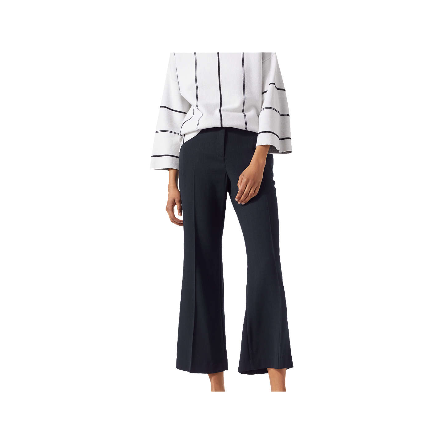 Buy Cheap Wholesale Price Tailored Kick Flare Trousers Jigsaw Cheap Sale Amazon Largest Supplier Sale Online HkntmqV7m