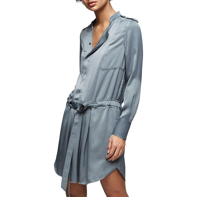 Reiss Eleanor Day Dress, Nordic Blue at John Lewis