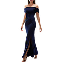 Buy Coast Shay Jersey Maxi Dress, Navy Online at johnlewis.com