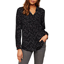 Buy Mint Velvet Pia Print Shirt, Multi Online at johnlewis.com