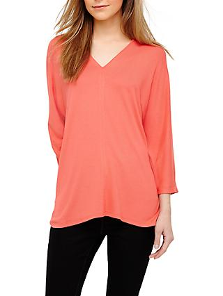 Phase Eight Vanessa Oversized V Neck Top