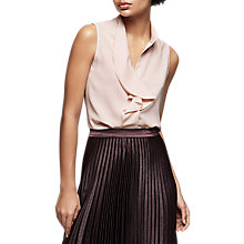 Buy Reiss Noa Ruffle Sleeveless Blouse Online at johnlewis.com