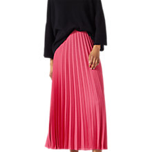 Buy Jigsaw Pleated Midi Skirt Online at johnlewis.com