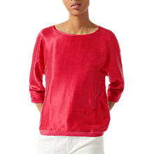 Buy Jigsaw Silk Front Batwing Top Online at johnlewis.com