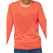 Buy Mint Velvet Ottoman Heart Jumper Online at johnlewis.com