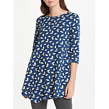 Buy Seasalt Nansidwell Tunic Top, Spring Leaf Night Online at johnlewis.com