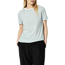 Buy Selected Femme My Perfect T-Shirt, Grey Mist Online at johnlewis.com