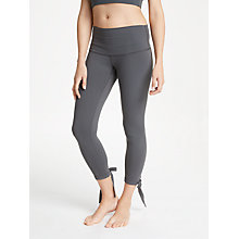 Buy Ana Heart Moss Ballet Leggings, Carbon Online at johnlewis.com
