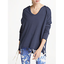Buy Ana Heart Lenny Oversized Sweatshirt, Dark Blue Online at johnlewis.com