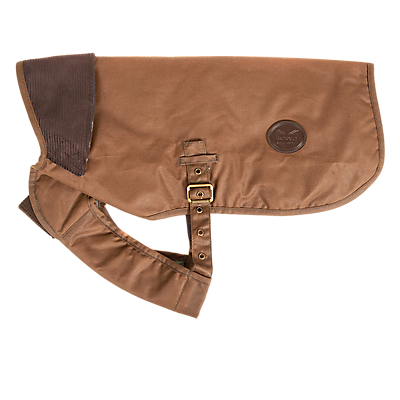 Image of Barbour Land Rover Wax Dog Coat, Sand