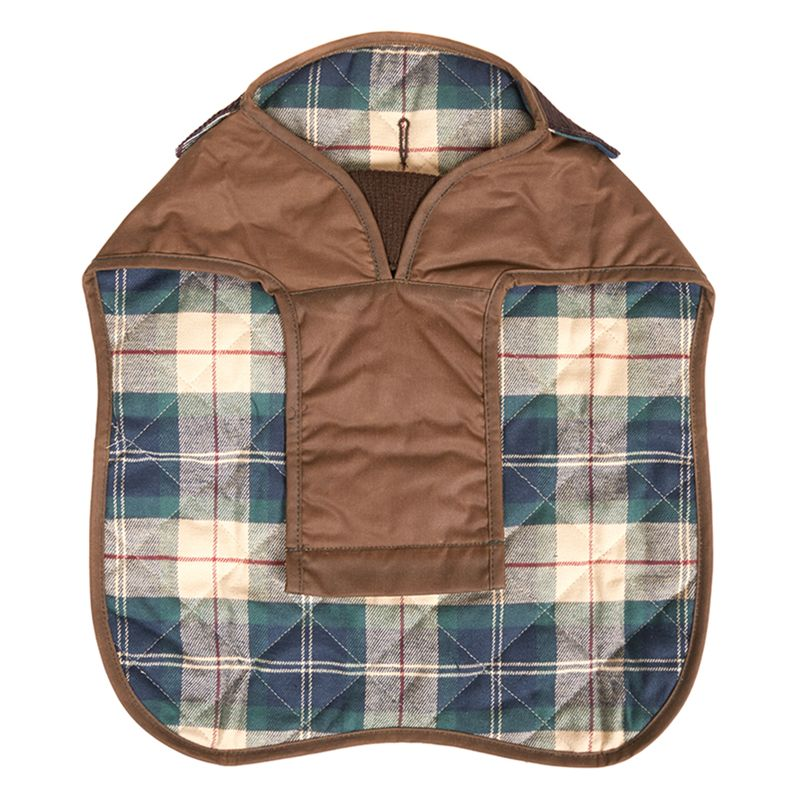 barbour landrover dog coat