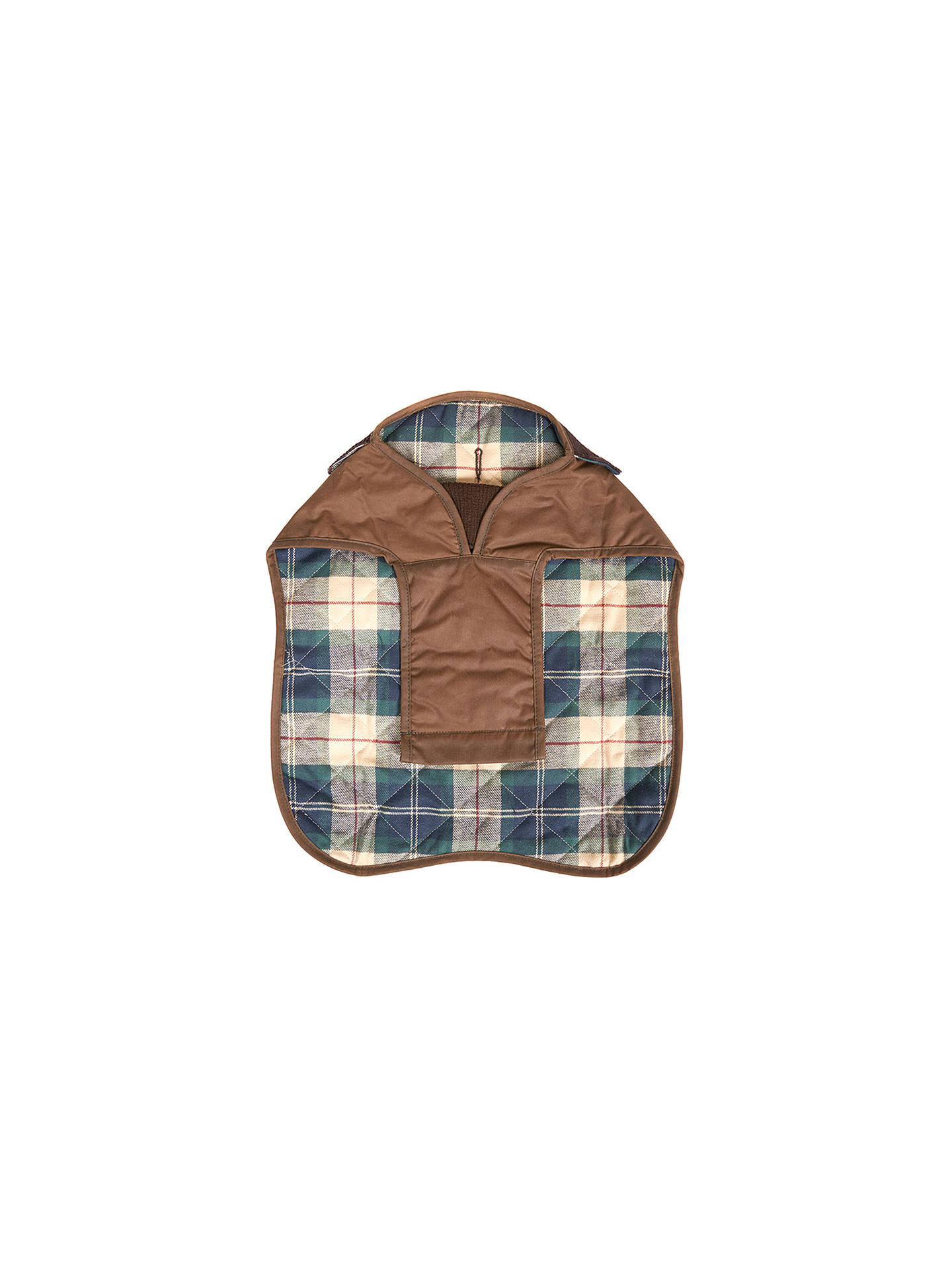 BuyBarbour Land Rover Wax Dog Coat, Sand, XS Online at johnlewis.com