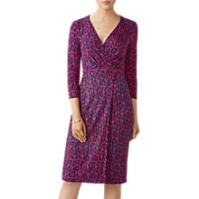 Buy Pure Collection Jersey Wrap Dress, Multi Online at johnlewis.com