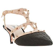 Buy Dune Casterly T-Bar Studded Court Shoes Online at johnlewis.com