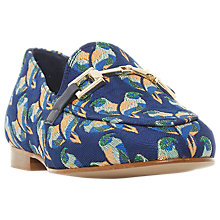 Buy Dune Guru Buckle Loafers, Blue Online at johnlewis.com