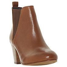 Buy Dune Pamella Block Heel Ankle Boots Online at johnlewis.com