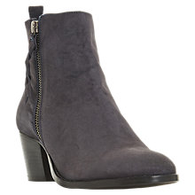 Buy Dune Pieper Block Heel Ankle Boots Online at johnlewis.com
